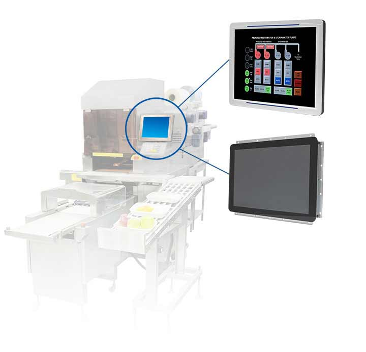 All-in-One Panel PC for Industrial Machinery