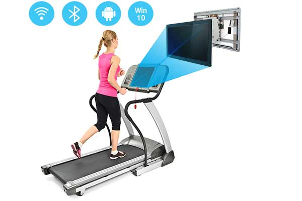 Fitness Equipment Console