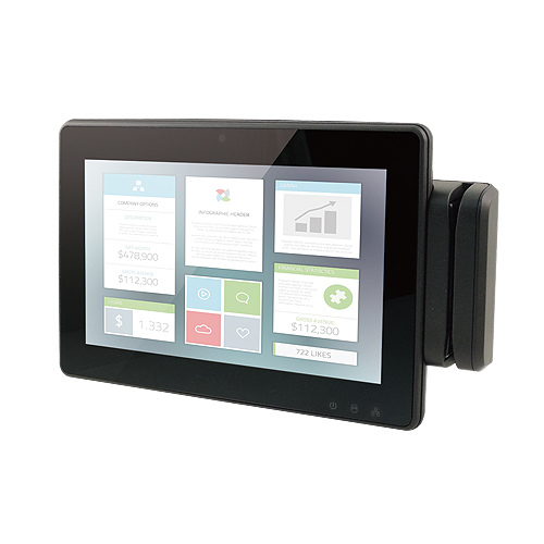 "RITY102 10.1"" WSVGA Flat Touch Panel PC Intel® Atom™ Processor with Intel Valleyview SoC"