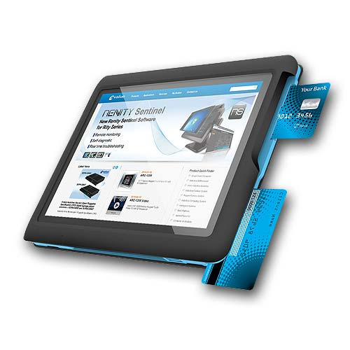 Tablet with Smart Card Reader & MSR