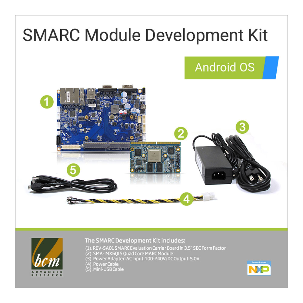SMARC Module Development Kit with Android OS