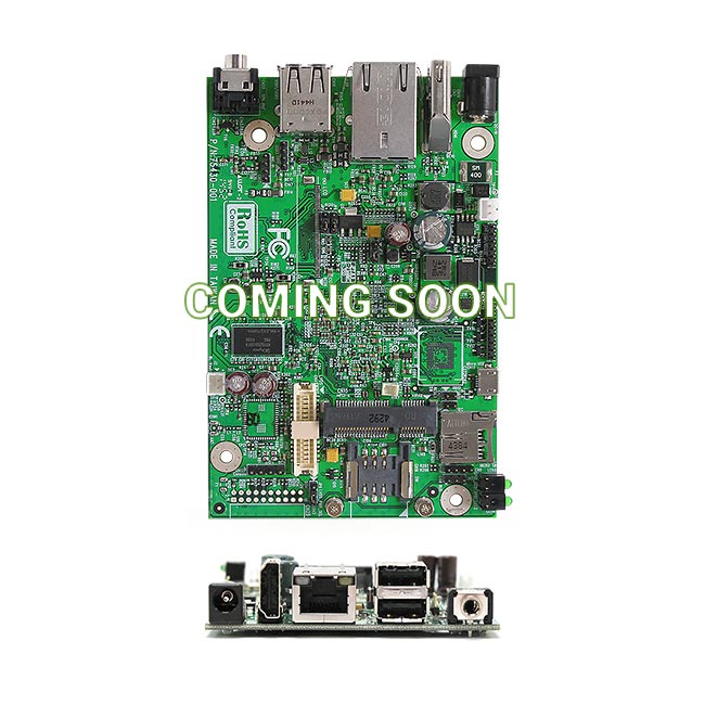 AR8MXC NXP i.MX 8M Compact ARM Motherboard supports Cortex A53/ Cortex M4 Dual Core Processor
