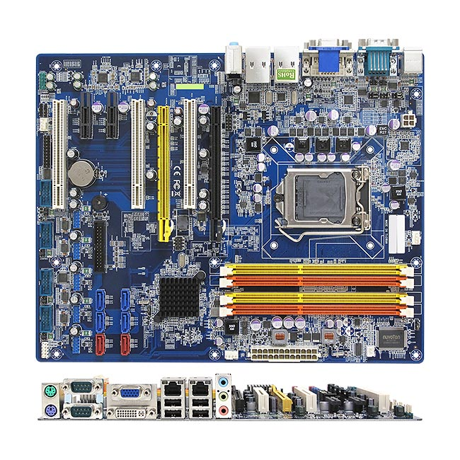 BC206C Intel C206 ATX Motherboard supports Intel Xeon and Intel Core i7/i5/i3 Processors and ECC Memory ideally for Server applications