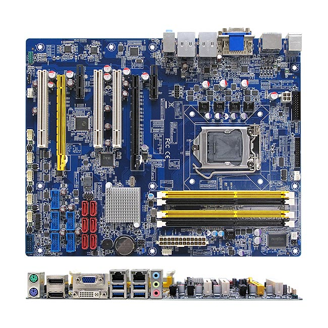 BC87Q Intel Q87 ATX Motherboard supports 4th generation Intel Core i7/i5/i3 Processors