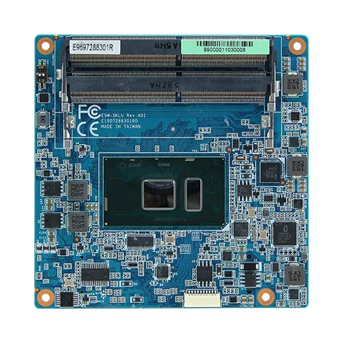 ESM-KBLU 7th Gen Intel Core SoC ULT Processor i7/i5/i3 Type6 Compact COMe Module