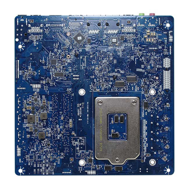 MX110HD Intel H110 Low Profile Thin mini-ITX motherboard DC Power Input