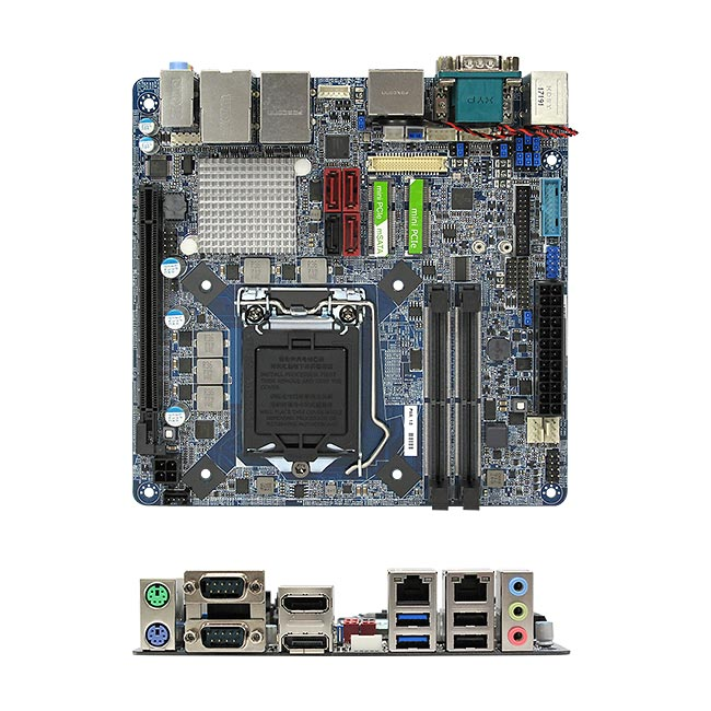 MX110H Intel H110 mini-ITX Motherboard Kaby Lake Skylake Platform