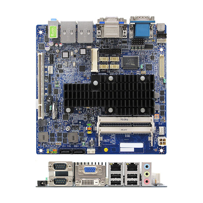 MX255D 3rd generation Intel Atom D2550 mini-ITX Motherboard low-power