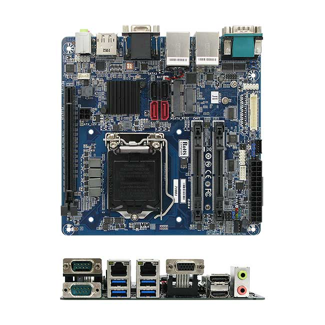 MX310H Intel H310 mini-ITX motherboard ATX Power
