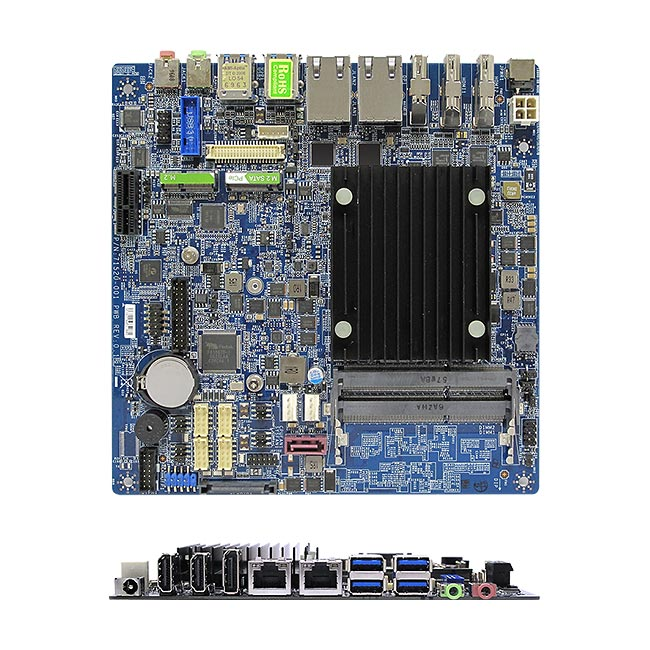 MX3350N Intel Apollo Lake N3350 Dual Core Fanless Low Profile mini-ITX Motherboard