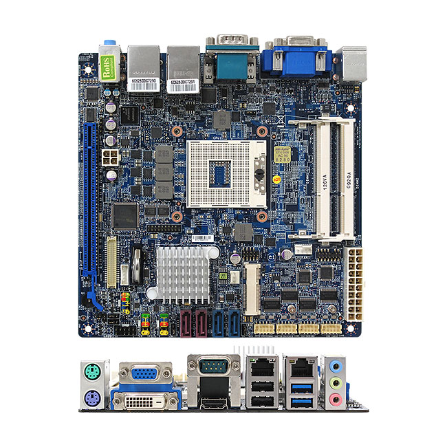 MX67QM Intel QM67 mini-ITX Motherboard