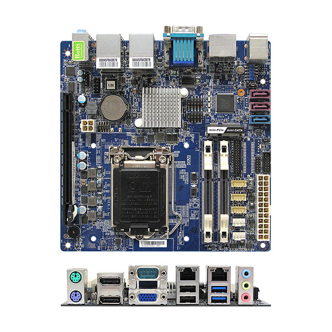 MX81H Intel H81 mini-ITX Motherboard supports Intel Haswell Core Desktop processors