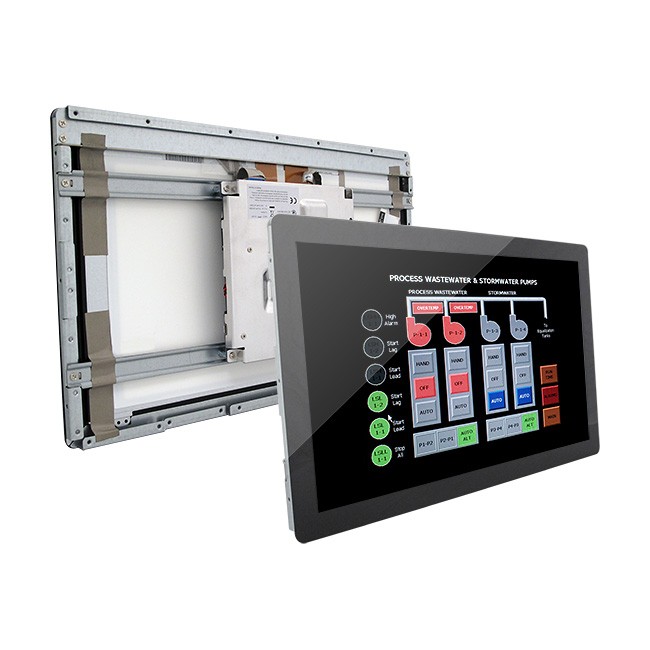 15 inch Open Frame Tablet with Intel Atom Quad Core CPU onboard and PCAP Touch