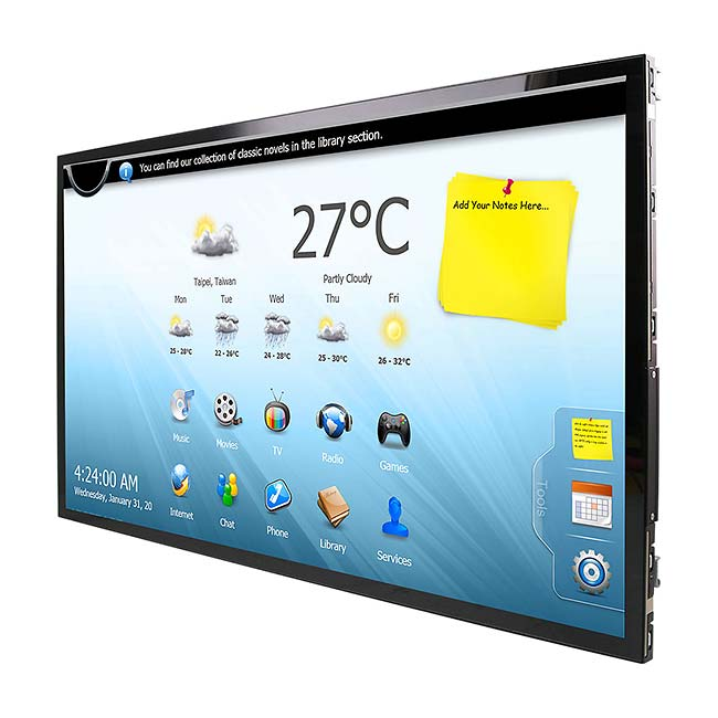 OFT-21W01 21 inch Thin Open Frame Tablet with Touch Screen
