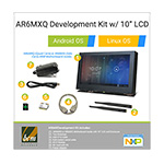 AR6MXQ-LCD AR6MXQ i.MX6 Quad Core ARM Development Kit with 10in Touch LCD & Enclosure, Android/Linux OS