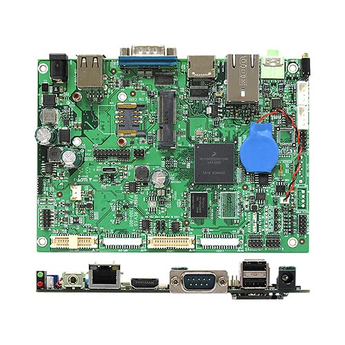 AR6MXS NXP i.MX6 ARM Cortex A9 Solo Core 1.0 GHz Low Power ARM Motherboard