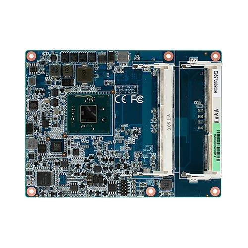 ESM-BYT Intel® Atom™/Celeron J1900 SoC Processors COM Express Type 6 Module with Extended Temperature