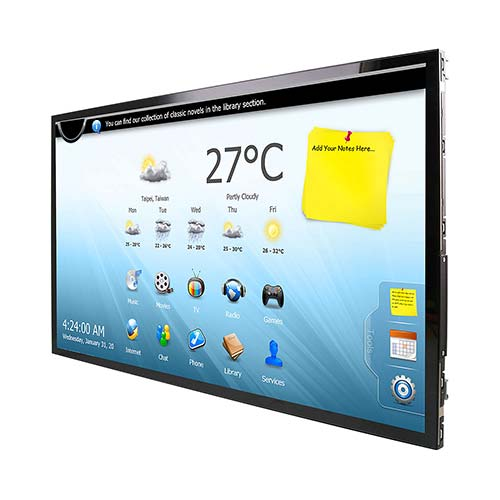21 inch Open Frame Tablet with Intel Atom Quad Core CPU onboard and PCAP Touch