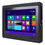 10.1 Semi-Rugged Tablet with Intel Atom Quad Core CPU, 1280x800 HD Touch LCD, BT and WWAN