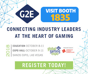 Global Gaming Expo 2018 BOOTH #1835
